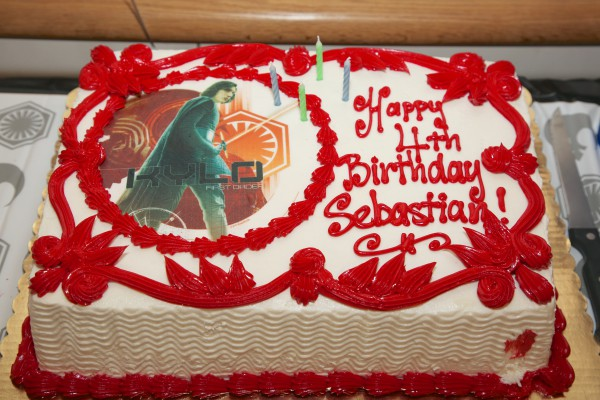 Sebastian's 4th Birthday