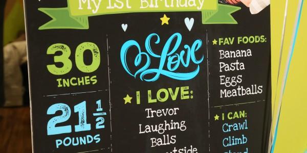 Brendan's 1st Birthday